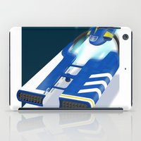spaceship iPad Cases featuring SpaceShip by LoweakGraph