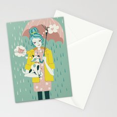 Walking the Dog Stationery Cards