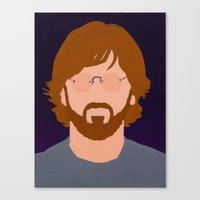 phish Canvas Prints featuring Trey by Jason Conny