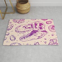 Geo-rex Vortex | Magenta & Purple Ombré Rug