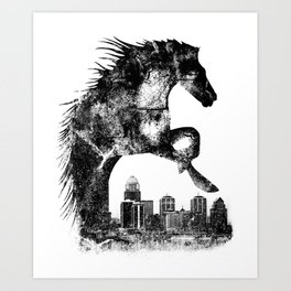 Home Of The Derby Art Print