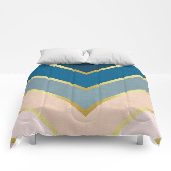 Golden direction Comforters