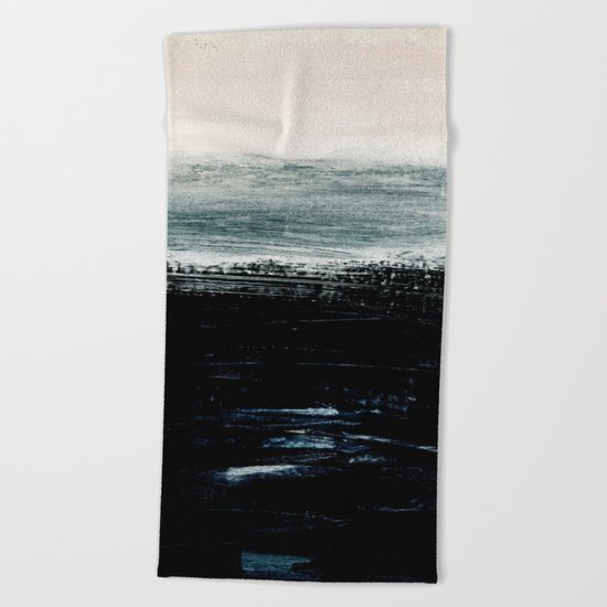 abstract minimalist landscape 3 Beach Towel