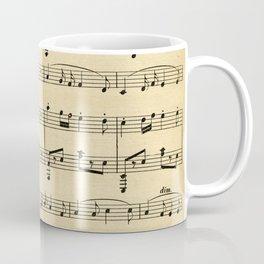 Antique Sheet Music Coffee Mug