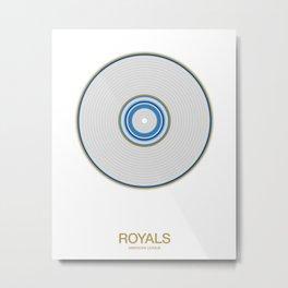Kansas City rings Metal Print
