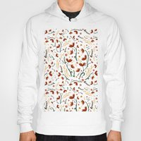 floral pattern Hoodies featuring Floral Pattern by Carolyn Kay Chema
