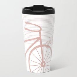 Pink Bike by Friztin Travel Mug