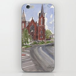 Immaculate Conception Church - Ft. Smith, AR iPhone Skin