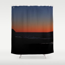 Moonlit Sunrise Shower Curtain