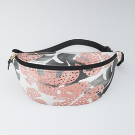 Monstera shadow Fanny Pack