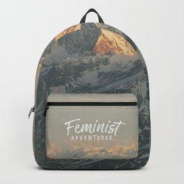 Feminist Adventurer Backpack