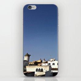 Spanish Island Village iPhone Skin