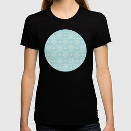 Nordic Christmas cross stitch pattern III T-shirt