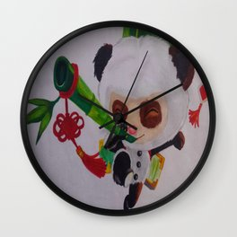 Teemo off duty Wall Clock