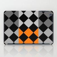 orange pattern iPad Cases featuring Pattern orange by LoRo  Art & Pictures