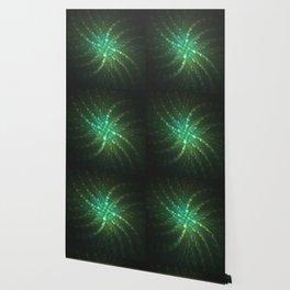 Abstarct green fractal Wallpaper