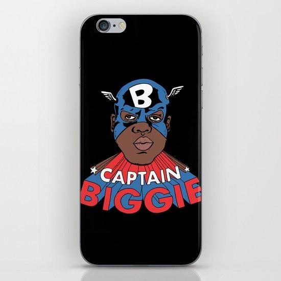 Captain Biggie iPhone & iPod Skin