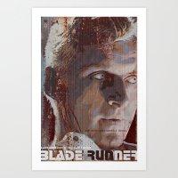 blade runner Art Prints featuring Blade Runner by Duke Dastardly