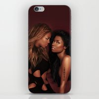 nicki iPhone & iPod Skins featuring Bey & Nicki by Tyler Simien
