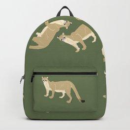 Carnivores of World: Cougar Pum(a) (c) 2017 Backpack