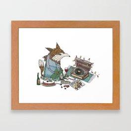 A Vinyl Christmas Framed Art Print