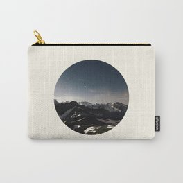 Mountain Starry Night Carry-All Pouch