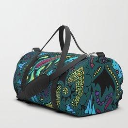 Zentangle #2 Duffle Bag