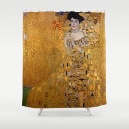 THE LADY IN GOLD - GUSTAV KLIMT Shower Curtain
