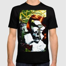 HER RUBY MY EMERALD Mens Fitted Tee Black MEDIUM