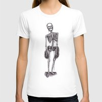 skeleton T-shirts featuring skeleton by CarlyK473