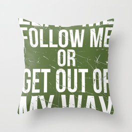Lead Me Throw Pillow