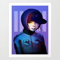 manga Art Prints featuring Manga by IOSQ