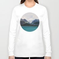 alaska Long Sleeve T-shirts featuring Alaska Wilderness by Leah Flores