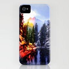 Colorado Flag/Landscape iPhone (4, 4s) Slim Case