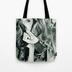 Frau Dreiecke 5 Tote Bag