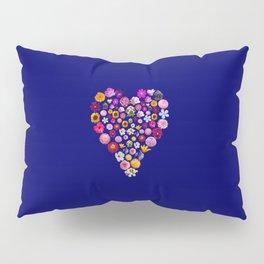 Heart of Flowers Pillow Sham