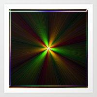 Abstract perfection - Spectrum Art Print