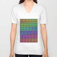 squirtle V-neck T-shirts featuring Squirtle Spectrum by pkarnold + The Cult Print Shop