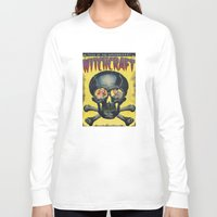 witchcraft Long Sleeve T-shirts featuring WitchCraft by Copyright free comic fans