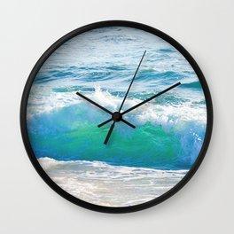 Gentle Surf Wall Clock