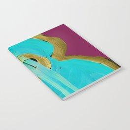 Uke Box Blue Paint Notebook