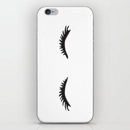 Lashes iPhone Skin