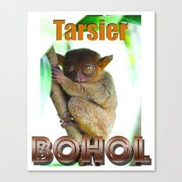 Tarsier Monkey Bohol Philippines Canvas Print