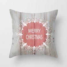 Merry Christmas #2 Throw Pillow