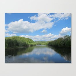 New Jersey Meets Pennsylvania Canvas Print
