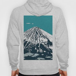 Mount Fuji from the Sky Hoody