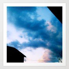 Cloud Study PT3 Art Print