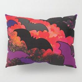 Bats In Flight Pillow Sham