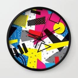 Retro 80s be that Wall Clock