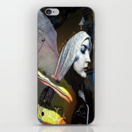 Saint Dymphna Reborn iPhone Skin